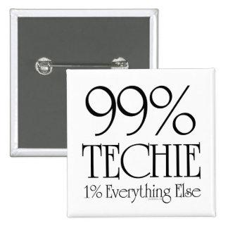 Technicien de 99 badges avec agrafe