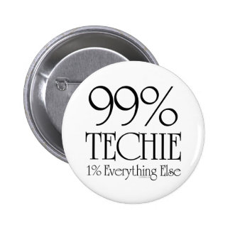 Technicien de 99% badge rond 5 cm