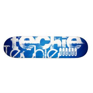 Technicien ; Rayures bleues royales Planche À Roulette