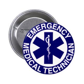 TECHNICIENS MÉDICAUX EMT DE SECOURS BADGE
