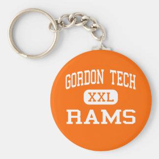Technologie de Gordon - RAM - haute - Chicago l'Il Porte-clé Rond