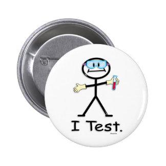 Technologie de laboratoire médical badge