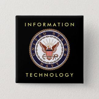 Technologie de l'information de MARINE des USA Badge