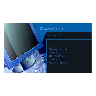 Technologie Services Carte De Visite Standard
