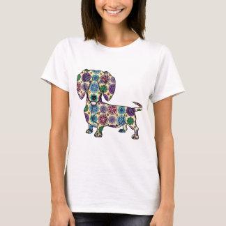 Teckel - T-shirt coloré