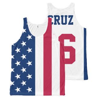 Ted Cruz 2016 pour le Président drapeau américain Bannières