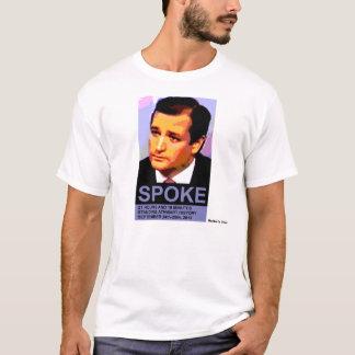 Ted Cruz a parlé, des couleurs naturelles T-shirt