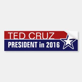 Ted Cruz en 2016 Autocollant De Voiture