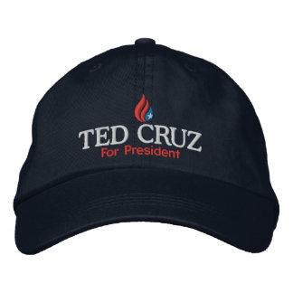 Ted Cruz pour le casquette de casquette de Casquette Brodée