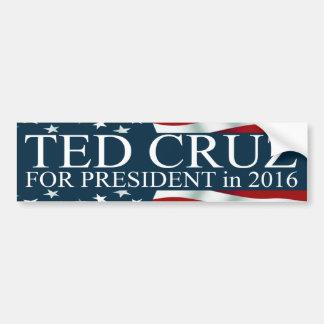 Ted Cruz pour le président 2016 Autocollant De Voiture