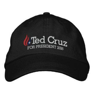 Ted Cruz pour le président 2016 Casquette Brodée