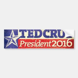 Ted Cruz pour le Président adhésif pour pare-chocs Autocollant De Voiture