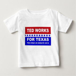 Ted fonctionne pour la conception blanche du Texas T-shirt Pour Bébé
