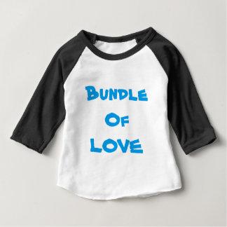 "Tee - shirt d'amour de T-SHIRTS de BÉBÉ ""paquet"""