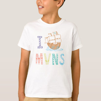 Tee - shirt de bateau de pirate de MVNS 2015/2016 T-shirt