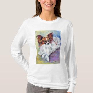 Tee - shirt de chien de Papillon T-shirt