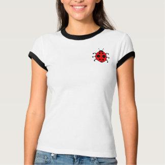 Tee - shirt de coccinelle pour des femmes t-shirt