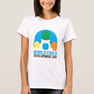 Tee - shirt de douille de short de femelle adulte t-shirt