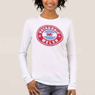Tee - shirt de drapeau de Gallois de Patagonia T-shirt À Manches Longues