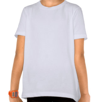 Tee - shirt de filles de Nessie de coeur du T-shirt
