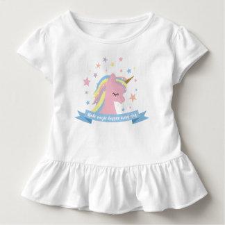 """Tee - shirt de licorne - """"faites la magie se t-shirt pour les tous petits"""