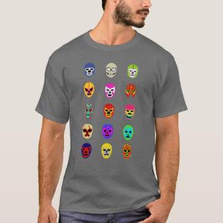 Tee - shirt de lutte mexicain de masque de Lucha T-shirt
