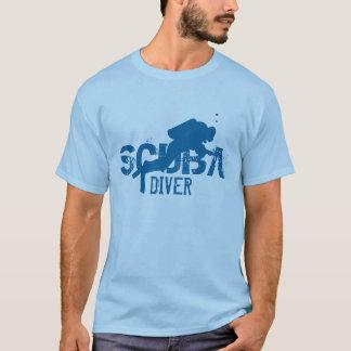 Tee - shirt de plongeur autonome t-shirt