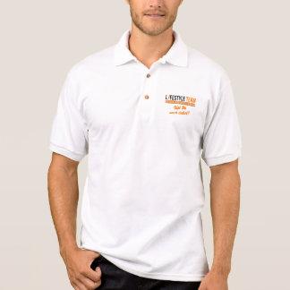 Tee-shirt de style de vie équipe polo