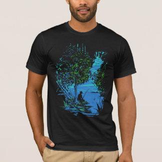 Tee - shirt de tache de pêche t-shirt