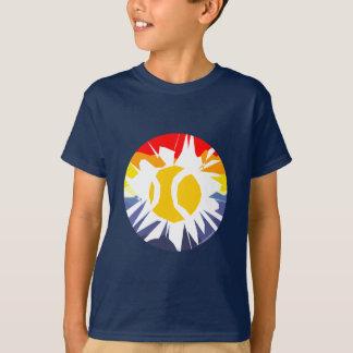 Tee - shirt de tennis d'enfants t-shirt