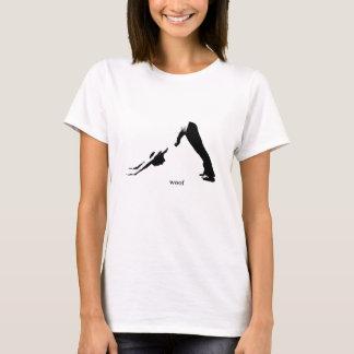 """Tee - shirt de yoga de courbure - """"trame """" t-shirt"""