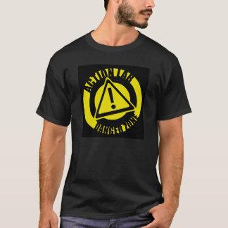 Tee - shirt de zone dangereuse de laboratoire t-shirt