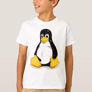 Tee - shirt d'enfants de Linux Tux T-shirt