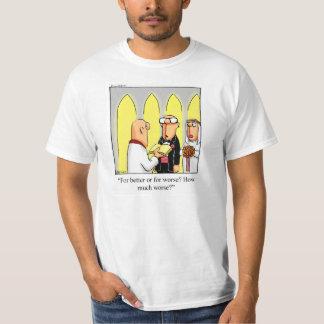 Tee - shirt d'humour de marié t-shirt