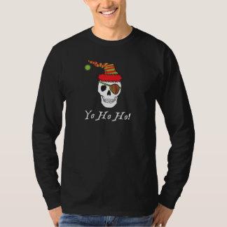 Tee - shirt d'obscurité de pirate de Père Noël T-shirt