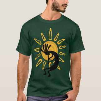 Tee - shirt d'or de Kokopelli T-shirt