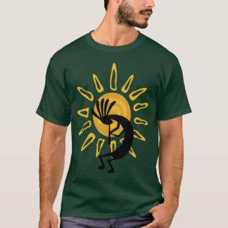 Tee - shirt d'or de Kokopelli T-shirt
