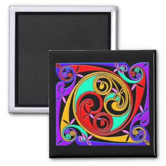Tee - shirt et cadeaux celtiques d'art de style an magnets pour réfrigérateur