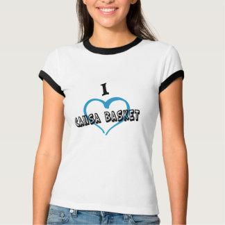 Tee-shirt femme I love CANSA BASKET T-shirt