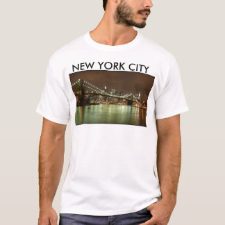 Tee-Shirt Homme Vert - New York City T-shirt