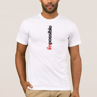 tee - shirt impossible t-shirt