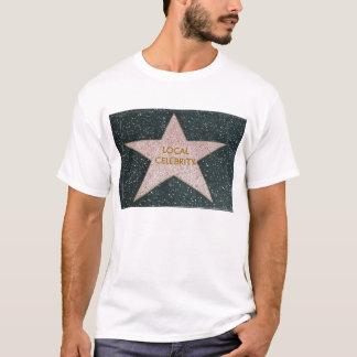Tee - shirt local de célébrité t-shirt