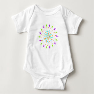 Tee - shirt mignon de bébé de soleil t-shirt