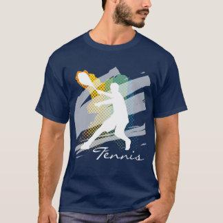 Tee - shirt personnalisé de tennis pour les hommes t-shirt