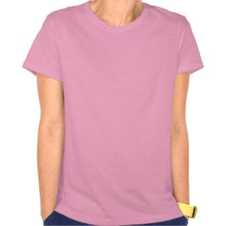 Tee - shirt rose rouge de coeur de texture de Poin T-shirts