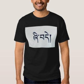 Tee - shirt tibétain de paix t-shirt
