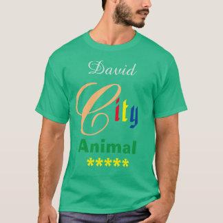 Tee - shirt vert du T-shirts des hommes