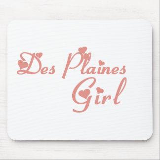 Tee - shirts de fille de Des Plaines Tapis De Souris