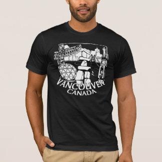 Tee - shirts de point de repère de T-shirt de