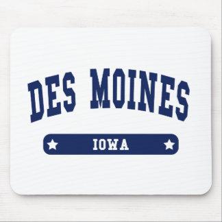 Tee - shirts de style d'université de Des Moines I Tapis De Souris